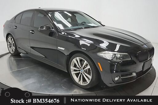 2016_BMW_5 Series_528i NAV,CAM,SUNROOF,HTD STS,PARK ASST,19IN WLS_ Plano TX