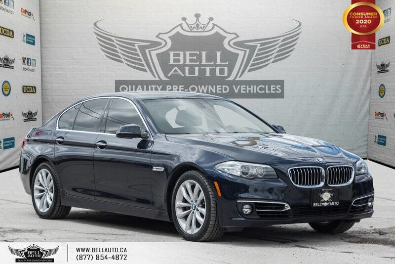 2016 BMW 5 Series 528i xDrive, AWD, NAVI, REAR CAM, HEAD-UP DIS, SENSORS Toronto ON