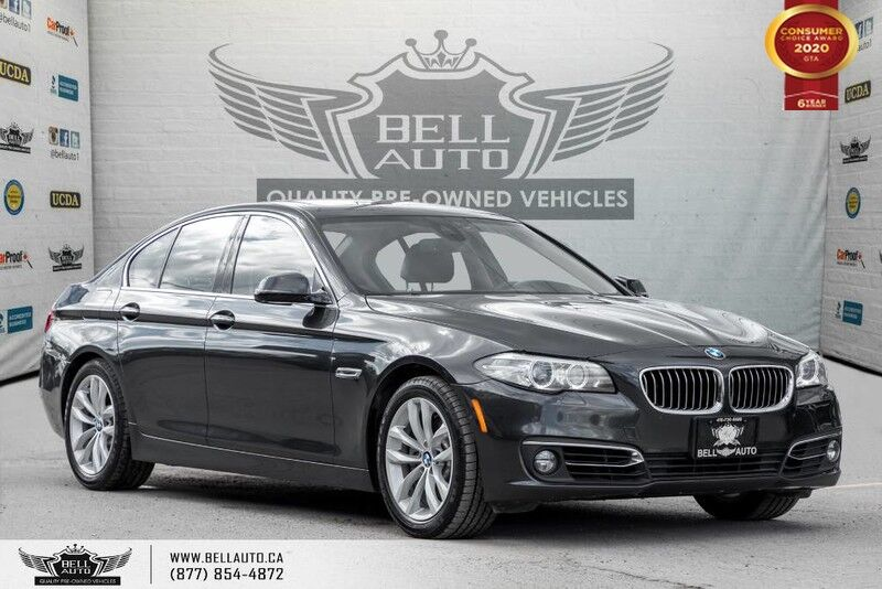 2016 BMW 5 Series 528i xDrive, NAVI, REAR CAM, SENSORS, SUNROOF