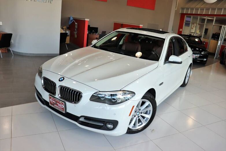 2016 BMW 5 Series 528i xDrive Premium Cold Weather Package Park Distance Control Backup Camera Sunroof Navigation Springfield NJ