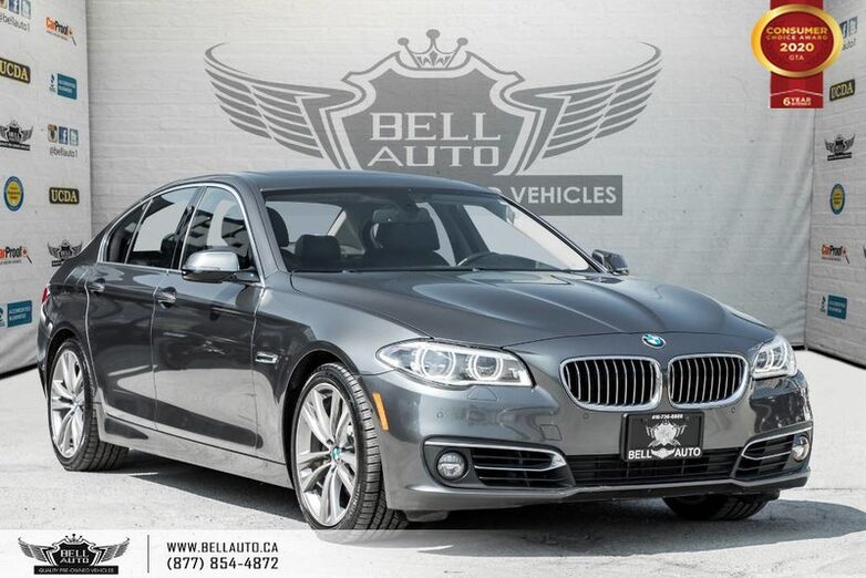 2016 BMW 5 Series 535d xDrive, DIESEL, AWD, NO ACCIDENT, NAVI, 360 CAM, HEADS-UP Toronto ON
