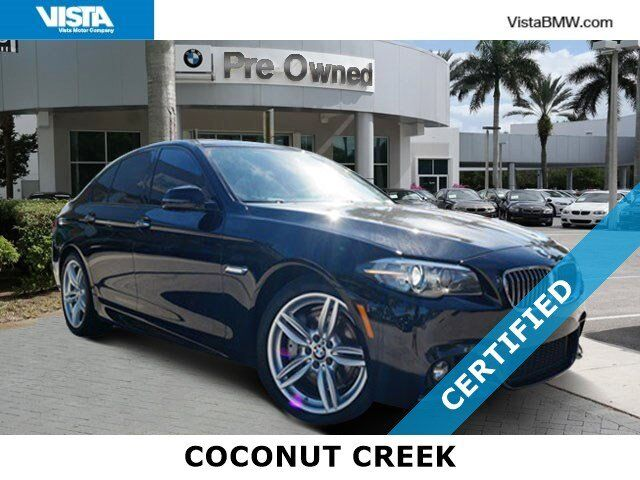2016 BMW 5 Series 535i Coconut Creek FL