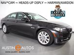 2016 BMW 5 Series 535i *HEADS-UP DISPLAY, NAVIGATION, BACKUP-CAMERA, HARMAN/KARDON, MOONROOF, DAKOTA LEATHER, HEATED SEATS, COMFORT ACCESS, BLUETOOTH