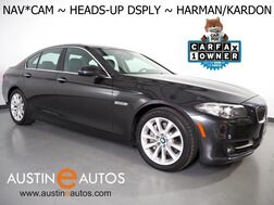 2016_BMW_5 Series 535i_*HEADS-UP DISPLAY, NAVIGATION, BACKUP-CAMERA, HARMAN/KARDON, MOONROOF, DAKOTA LEATHER, HEATED SEATS, COMFORT ACCESS, BLUETOOTH_ Round Rock TX