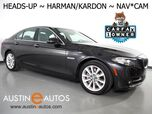 2016 BMW 5 Series 535i *HEADS-UP DISPLAY, NAVIGATION, BACKUP-CAMERA, HARMAN/KARDON, MOONROOF, LEATHER, HEATED SEATS, POWER TRUNK, COMFORT ACCESS, BLUETOOTH PHONE & AUDIO
