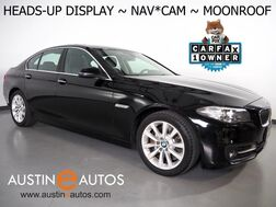 2016_BMW_5 Series 535i_*HEADS-UP DISPLAY, NAVIGATION, BACKUP-CAMERA, MOONROOF, DAKOTA LEATHER, HEATED SEATS, COMFORT ACCESS, BLUETOOTH PHONE & AUDIO_ Round Rock TX