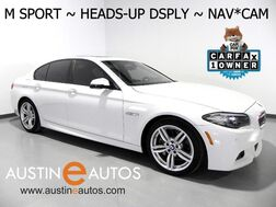 2016_BMW_5 Series 535i_*M SPORT, HEADS-UP DISPLAY, NAVIGATION, LUXURY/CLIMATE SEATS, BACKUP-CAMERA, NAPPA LEATHER, MOONROOF, HARMAN/KARDON_ Round Rock TX
