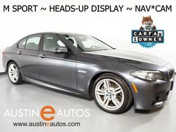 2016_BMW_5 Series 535i_*M SPORT, HEADS-UP DISPLAY, NAVIGATION, NAPPA LEATHER, BACKUP-CAMERA, MOONROOF, HARMAN/KARDON, HEATED SEATS, BLUETOOTH PHONE & AUDIO_ Round Rock TX