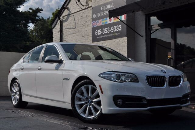 2016 BMW 5 Series 535i/ Nav/ Rear Cam/Sunroof /Low Miles Nashville TN