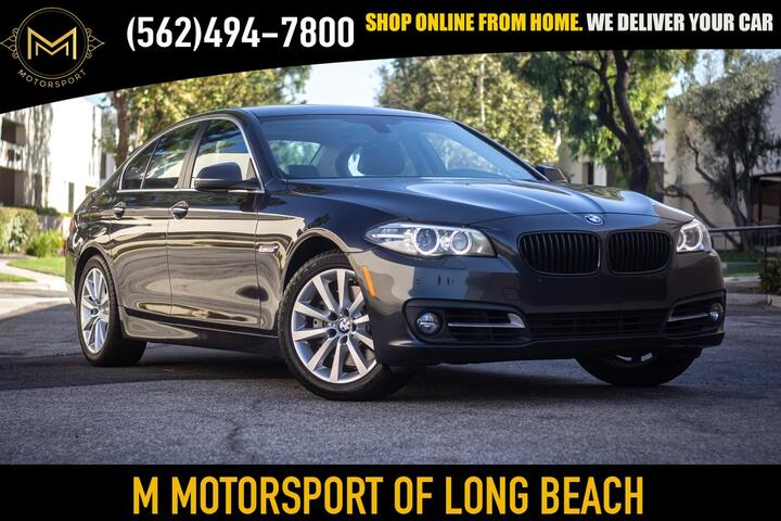2016 BMW 5 Series 535i Sedan 4D Long Beach CA