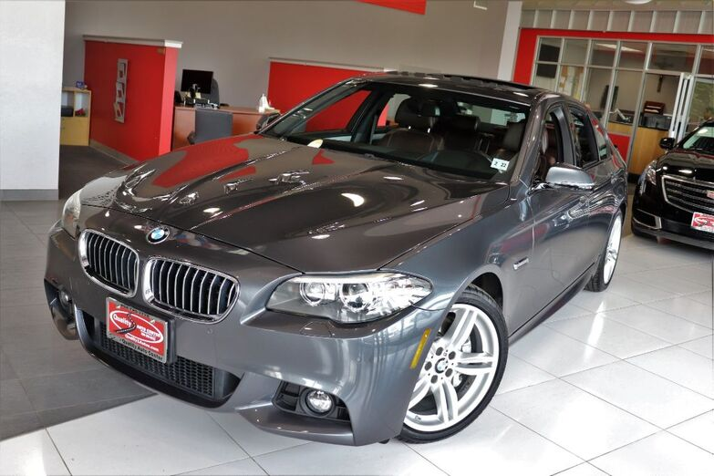 2016 BMW 5 Series 535i xDrive M Sports Premium Drivers Assist Cold Weather Package Multi Contour Seats Navigation Sunroof Springfield NJ