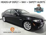 2016 BMW 5 Series 535i xDrive *NAVIGATION, HEADS-UP DISPLAY, BLIND SPOT ALERT, DRIVING ASSISTANT, SIDE/TOP/REAR CAMERAS, MOONROOF, HEATED SEATS/STEERING WHEEL, LEATHER, BLUETOOTH