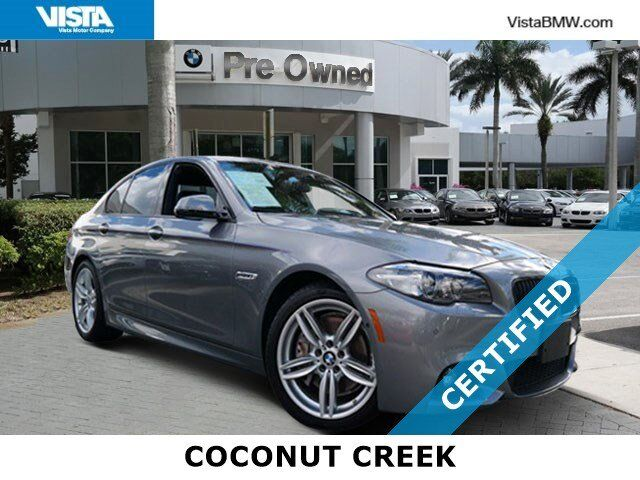2016 BMW 5 Series 550i Coconut Creek FL