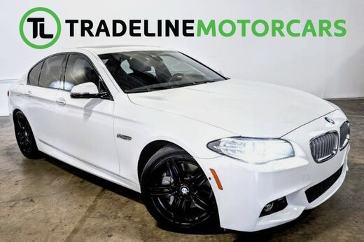 2016 BMW 5 Series 550i SUNROOF, REAR VIEW CAMERA, LEATHER, AND MUCH MORE!!! CARROLLTON TX
