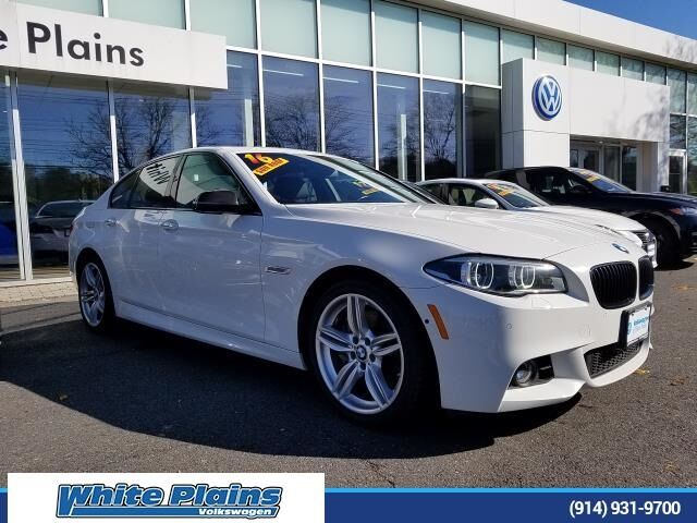 2016 BMW 5 Series 550i xDrive White Plains NY