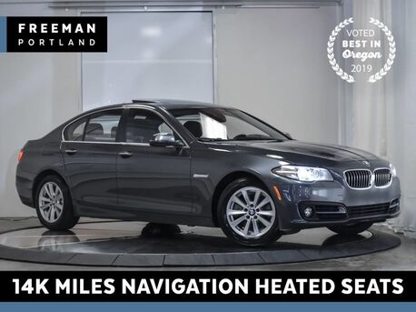 2016_BMW_528i_14k Miles Back-Up Camera Navigation Heated Seats_ Portland OR