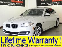 2016_BMW_528i_NAVIGATION SUNROOF REAR CAMERA HEATED LEATHER SEATS PARK ASSIST BLUETOOTH M_ Carrollton TX