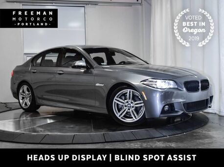 2016_BMW_535d_Diesel M Sport Head-Up Display Blind Spot Asst Nav_ Portland OR