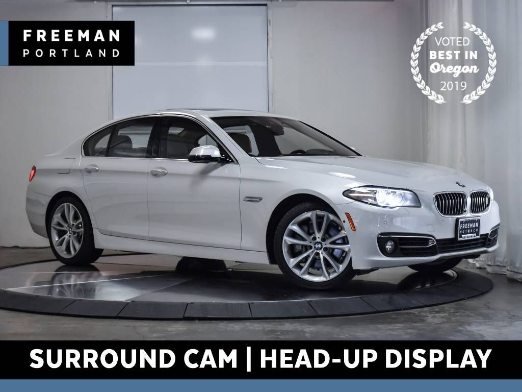 2016 BMW 535d Luxury Line Diesel Head-Up Display Surround Cam
