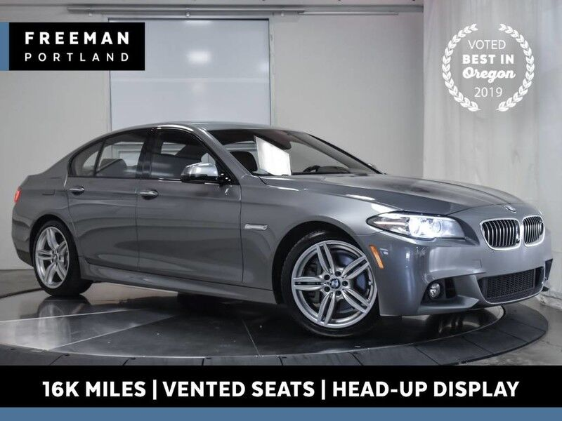 2016 BMW 535d M Sport Active Vented Seats 16k Mi Head-Up Display Portland OR