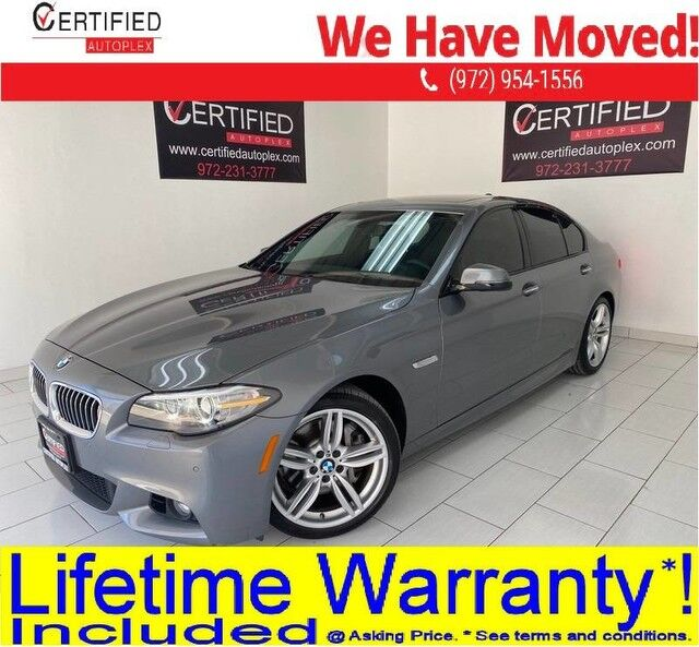 2016 BMW 535i M SPORT DRIVING ASSIST PKG PREMIUM PKG NAVIGATION SUNROOF HEADS UP DISPLAY Dallas TX