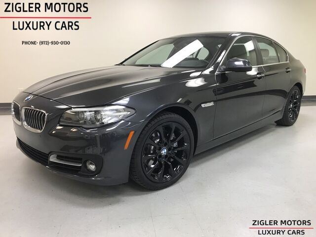 2016 BMW 535i One Owner low miles Prior CPO warranty til 10/20 Addison TX