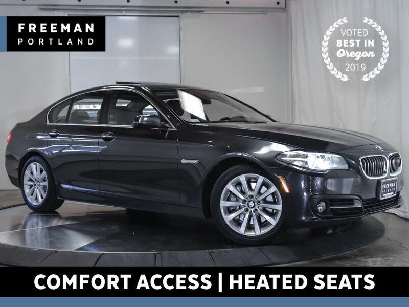 2016 BMW 535i xDrive Nav Htd Seats Back-Up Cam Comfort Access Portland OR