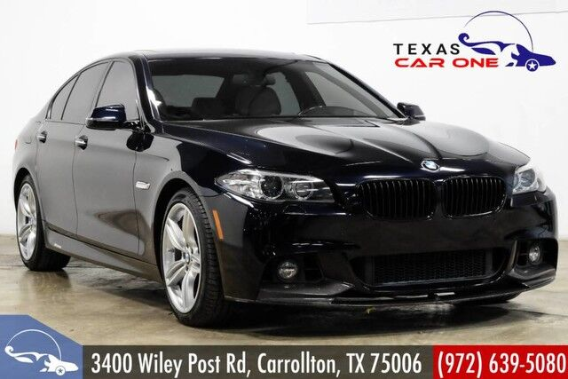 2016 BMW 550i M SPORT M SPORT PKG EXECUTIVE PKG LUXURY SEAT PKG NAVIGATION HEADUP DISPLAY Carrollton TX