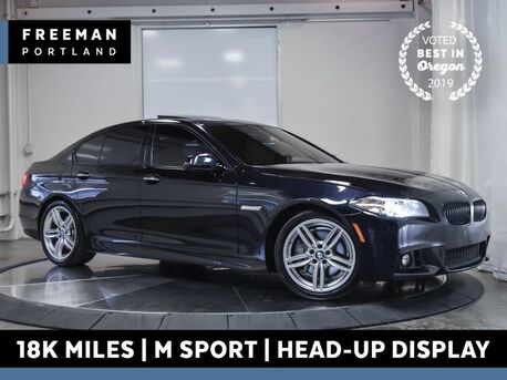 2016_BMW_550i_M Sport 18k Miles Head-Up Display Nav Htd Seats_ Portland OR