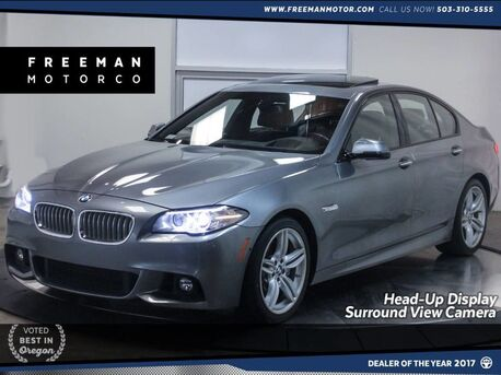 2016_BMW_550i_M Sport Head-Up Display Surround View Cam Nav_ Portland OR