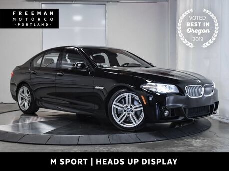 2016_BMW_550i_M Sport Head-Up Display Surround View Cam_ Portland OR
