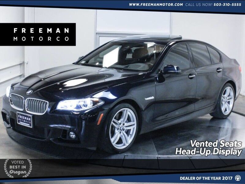 2016 BMW 550i M Sport Vented Seats Head-Up Display Blind Spot Ast Portland OR