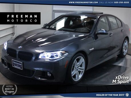 2016_BMW_550i_xDrive M Sport Climate Seats Surround View Cam_ Portland OR