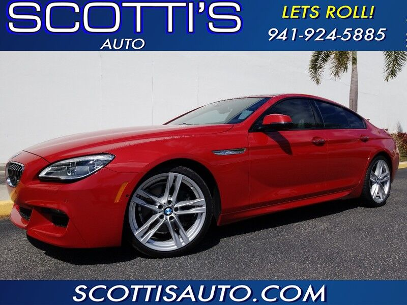 2016 BMW 6 Series 640i~ ONLY 19K MILES~ 1-OWNER~ TWIN TURBO~ AWESOME COLOR~ FINANCE AVAILABLE~ Sarasota FL
