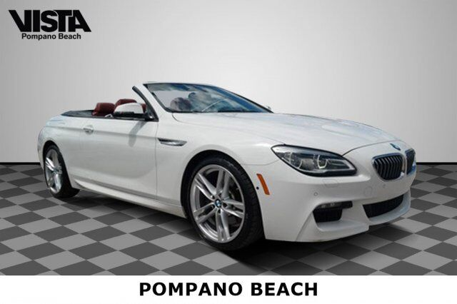 2016 BMW 6 Series 640i Pompano Beach FL