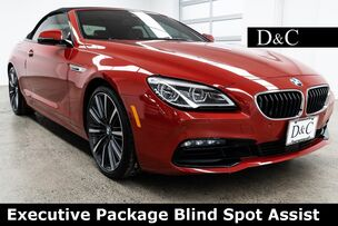 2016 BMW 6 Series 650i Executive Package Blind Spot Assist