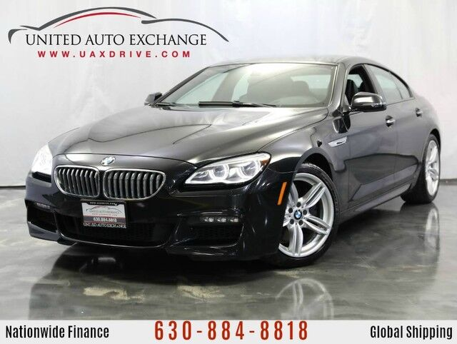 2016 BMW 6 Series 650i Gran Coupe M-sport Package Addison IL