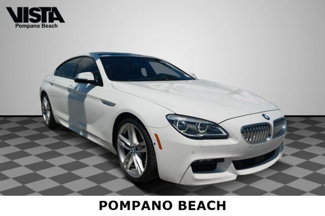 2016 BMW 6 Series 650i Pompano Beach FL