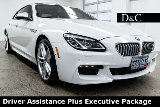 2016 BMW 6 Series 650i xDrive Gran Coupe Driver Assistance Plus Executive Package Portland OR