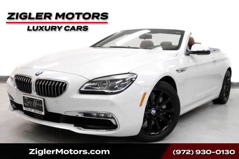 2016 BMW 6 Series **Free Shipping** 640i Convertible Backup Camera ,Comfort Access ,Parking control Addison TX