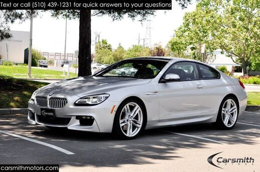 2016 BMW 650 M SPORT COUPE w/ Executive Pkg MSRP $101,195!!! Drivers Assistance Plus/20 Wheels/Bang & Olufsen Sound! Fremont CA
