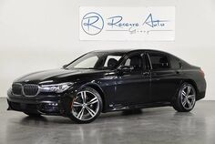 2016 BMW 7 Series 740i M-SPORT DRIVER Asst II Plus Pkg 20 Sport Alloys