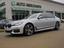 2016_BMW_7-Series_740i, M SPORT, NAV, SUNROOF, 360 VIEW, BLIND SPOT, HARMAN KARDON, PSH BTN START, KEYLESS ENTRY_ Plano TX