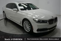 BMW 7 Series 740i NAV,CAM,PANO,HTD STS,PARK ASST,19IN WHLS 2016