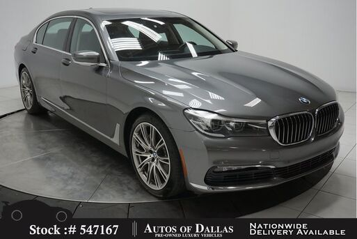 2016_BMW_7 Series_740i NAV,CAM,PANO,HTD STS,PARK ASST,20IN WLS_ Plano TX