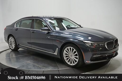 2016_BMW_7 Series_740i NAV,CAM,SUNROOF,HTD STS,PARK ASST,19IN WLS_ Plano TX