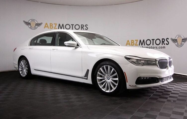 2016 BMW 7 Series 740i Pano Roof,Navigation,Front/Rear Cameras Houston TX