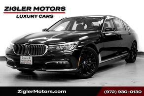 BMW 7 Series 740i Sport $98500 MSRP! Panoramic Roof! Driver Assist Plus !Hea 2016