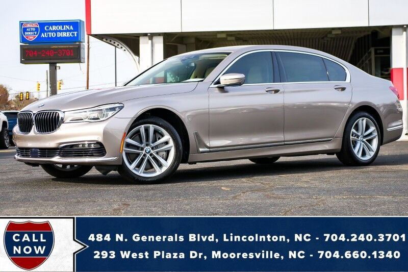 2016 BMW 7 Series 750i xDrive AWD *1-OWNER* w/ Massaging Front Heated Seats Mooresville NC