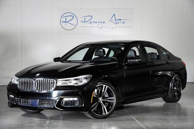 2016 BMW 7 Series 750i xDrive M-Sport Rear Executive Seating/DVD The Colony TX